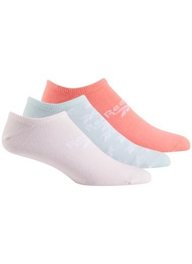 Reebok Cl Fo Görünmez Çorap 3P Pembe